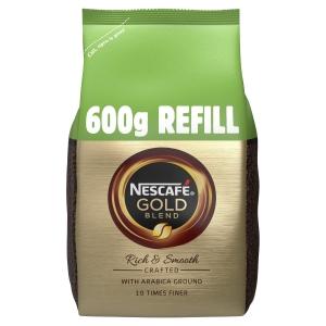 NESCAFE Gold Blend Coffee Granules Pouch 600g
