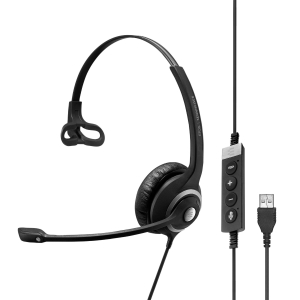 Sennheiser Monaural Headset USB PC Skype