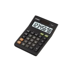 Casio MS-8B Desk Calculator - Tax & Currency - 8 Digit