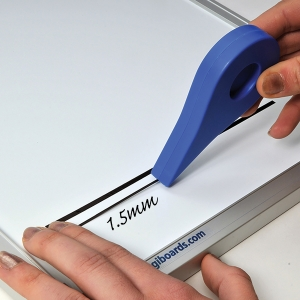 Adhesive Gridding Tape 1.5mm X 10M - Black
