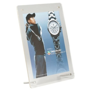 Acrylic Free Standing Desktop Frame A5 F/Iss