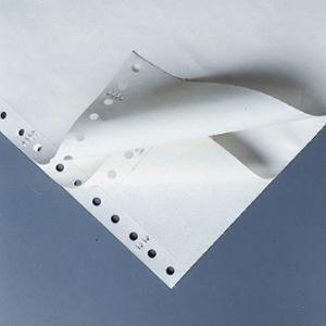 LYRECO 280 X 241MM 3-PART TINTED PLAIN PERF LISTING PAPER 52/53/57GSM-700 SHEETS