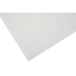 Lyreco Listing Paper 280x241mm 60gsm Plain Micro-Perforated 1-Part 2000-Sheets
