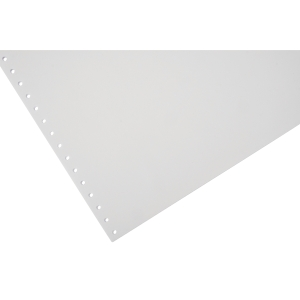 Lyreco Listing Paper 280x241mm 80gsm Plain Micro-Perforated 1-Part 2000-Sheets
