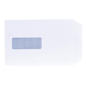 Lyreco White Envelopes C5 S/S Window 90gsm - Pack Of 500
