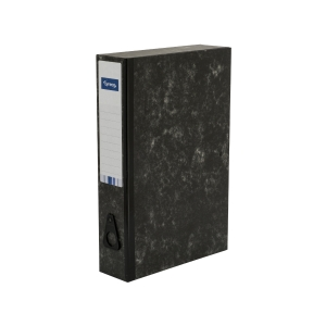LYRECO CLOUD FINISH FOOLSCAP RIGID BOX FILE