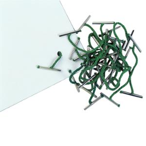 Metal-Ended Treasury Tags 25mm - Pack of 100
