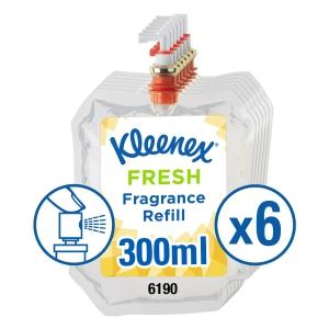 Kimberly Clark Aircare Fresh Fragrance Refills 300ml - Pack of 6