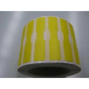 ROLL1000 DUMBBELL LABEL 12X52 YELLOW