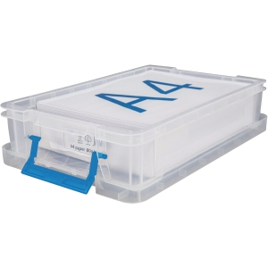 Whitefurze Allstore Clear 5.5 Litre PP Storage Box