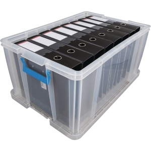WHITEFURZE ALLSTORE CLEAR 70 LITRE PP STORAGE BOX