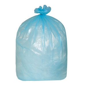 THE GREEN SACK MEDIUM DUTY REFUSE SACK 767MM X 965MM BLUE - BOX OF 200.