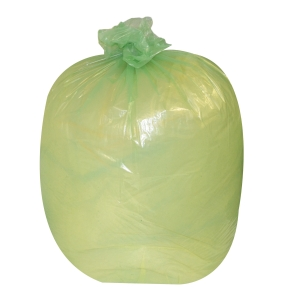 THE GREEN SACK CHSA 10KG MEDIUM DUTY REFUSE SACK 767MMX965MM GREEN - BOX OF 200