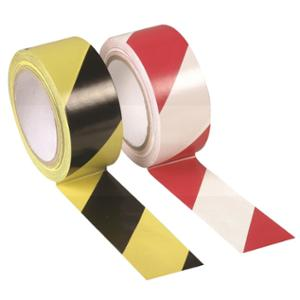 Floor Marking Tape  Hazard - Red/White