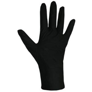 Black Pearl 2502 Nitrile PowderFree Disposable Glove Black Medium (Box of 100)