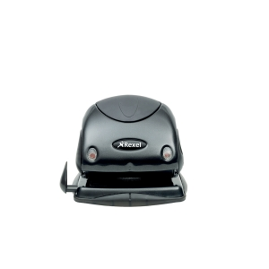 Rexel Choices P225 25 Sheet 2 Hole Punch Metal Black