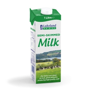 PENSWORTH SEMI SKIMMED UHT MILK 1L