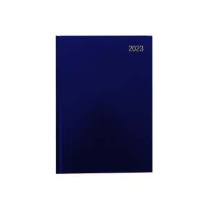 LYRECO A4 DESK DIARY BLUE - WEEK TO VIEW