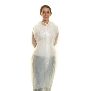 DISPOSABLE APRON CATER SAFE 300057 WHITE (ROLL OF 200)