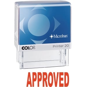 Colop P20Mb Appr Self-Inking Stamp