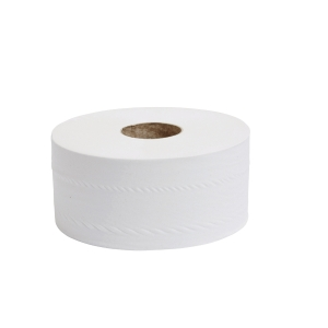 Toilet Roll 2 Ply 62mmx200M Mini Jumbo - Pack of 12