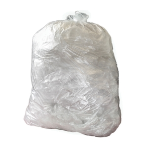 CHSA 10KG CLEAR 29X38  90 LITRE MEDIUM DUTY WASTE SACK - PACK OF 500
