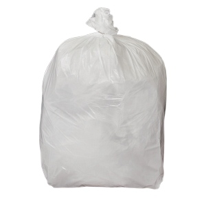 CHSA WHITE 15  X 24  X 24  SQUARE BIN LINER - PACK OF 500