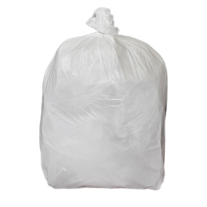 CHSA WHITE 11  X 17  X 17  PEDAL BIN BAG - PACK OF 5 ROLLS OF 100