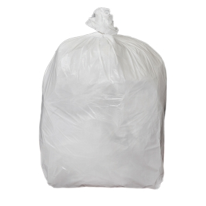 CHSA WHITE 15 X 24 X 24  SQUARE BIN BAG - PACK OF 5 ROLLS OF 100