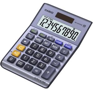 Casio MS-100TER II Desk 10-Digit Calculator
