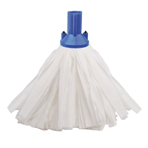 Exel Blue Big White Socket Mop Head 120G