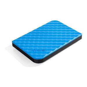 VERBATIM 53200 2.5  PORT HDD HARD DISC DRIVE 1TB BLUE