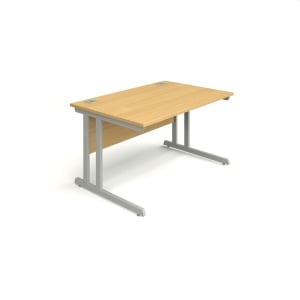 Rectangular Beech Desk 1200mm