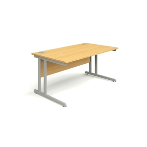 Rectangular Beech Desk 1400mm