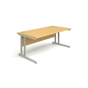 Rectangular Beech Desk 1600mm