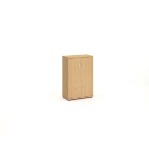 MEDIUM BEECH STATIONERY CUPBOARD 1600MM