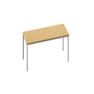 RECTANGULAR BEECH TABLE 800MM