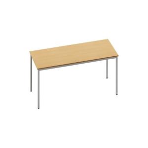 RECTANGULAR BEECH TABLE 1200MM