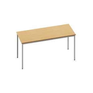 RECTANGULAR BEECH TABLE 1400MM