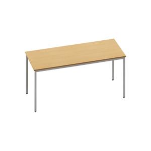 RECTANGULAR BEECH TABLE 1600MM