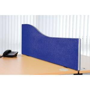 ALPHA ROYAL BLUE DESKTOP SCREEN 1600MM