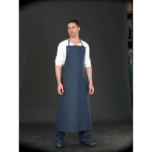 Alpha Solway Chemical Apron 48X36 Green