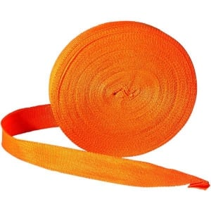 Roll High Vis Visibility nylon Glo Tape 20mm 25Mtr