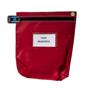 Versapak Ccb1 Secure Cash Bag Red
