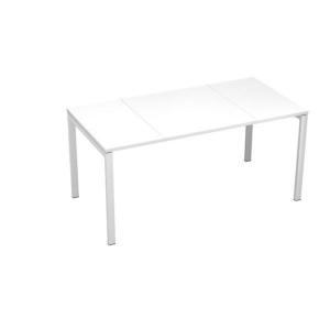 Paperflow Easydesk White Desk 1600mm X 800mm
