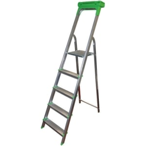 SAFETOOL 3730.05 LADDER 5 STEPS ALUMINIUM