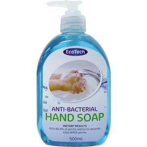 ECOTECH ANTI BAC HAND SOAP 500ML