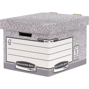 Fellowes Bankers Box System Heavy Duty Storage Box - Pack 10