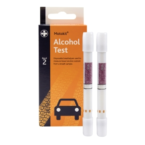 RELIANCE MEDICAL BREATHALYSER TEST PACK 2