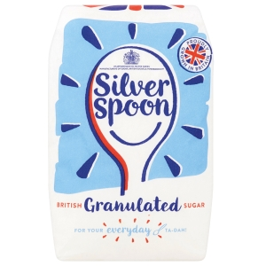 Silver Spoon Sugar 1kg Bag White